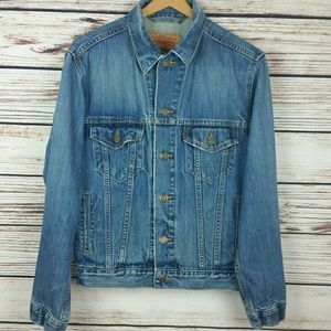 Levi Strauss Vintage Denim Trucker Jacket Small